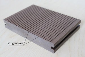 Groove Surface Treatment Recycled WPC/Wood Plastic Composite pictures & photos