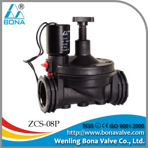 1inch Flow Control Irrigation Solenoid Valve (ZCS-08P) pictures & photos