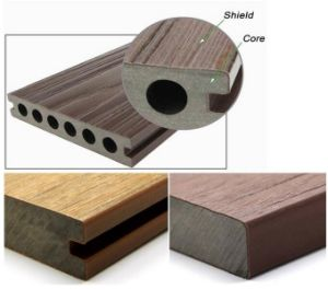 Factory Steady Quality WPC Outdoor Composite Decking Floor pictures & photos