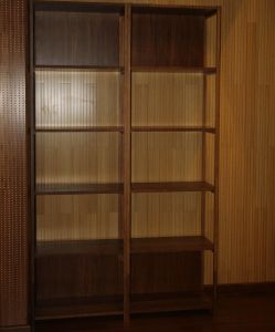 Solid Bamboo Storage Shelf Without Door pictures & photos