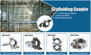 Scaffolding Swivel Coupler with Casting Steel Wedge pictures & photos