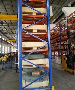 High Quality Heavy Duty Metal Steel Pallet Shelf Rack pictures & photos