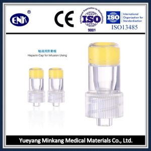 Medical Disposable Transparent Heparin Cap, for I. V Catheter, with Ce&ISO Approved pictures & photos