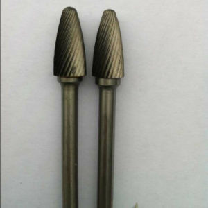 Solid Carbide Rotary Burrs with excellent endurance