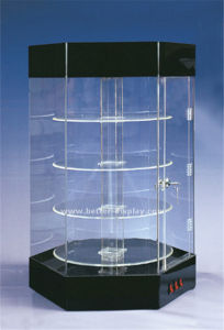 Custom Clear Acrylic Display Cabinets pictures & photos