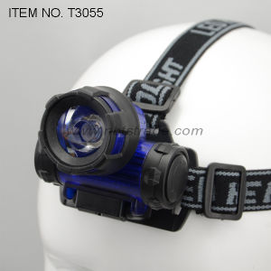 High Power LED Headlamp (T3055) pictures & photos
