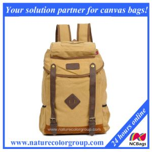 Retrol Travel Duffel Bag Canvas Backpack (SBB-033) pictures & photos