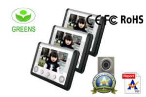 7 Inch LCD Video Door Phone for 3 Familes (GVDP802B3)