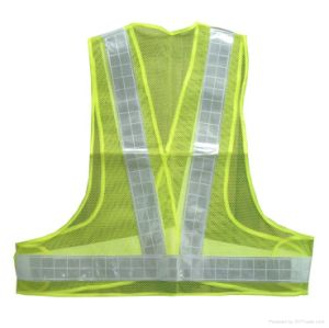Road Work Reflective Custom Made Vest pictures & photos