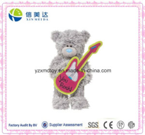 Plush Teddy Bear Doll with Guitar Toy pictures & photos