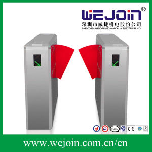 Automatic Flap Barrier Wing Barrier with Extanding PU Rubber Flap pictures & photos