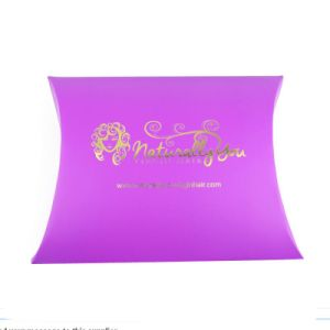 Wholesale Hot Popular Hair Extension Pillow Box pictures & photos