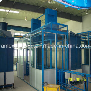 Steel Drum Barrel Spray Painting Room 55 Gallon 210L Steel Drum Making Machine Production Line pictures & photos