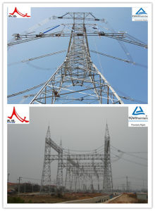 Customized Three- Leg and Four-Leg Power Transmission Line Tower pictures & photos
