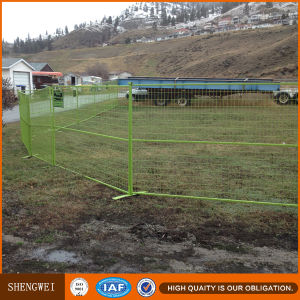 Canada Temporary Construction Site Portable Fencing pictures & photos