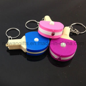 Mini Ping-Pong Flashlight LED Keyholder (LKC008) pictures & photos