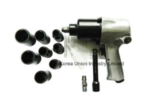 "17PCS 1/2"" Air Impact Wrench Kit with 8PC Impact Sockets pictures & photos"