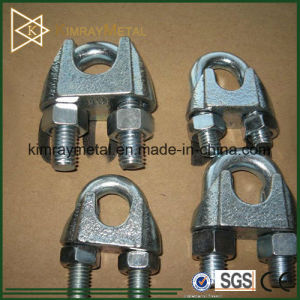 DIN741 Galvanized Malleable Wire Rope Clip pictures & photos