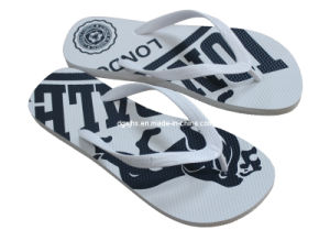 White Ladies′ Rubber Flip Flops pictures & photos