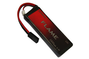 Flame 9.9V 1500mAh 15c LiFePO4 LFP Airsoft Lipo Battery pictures & photos