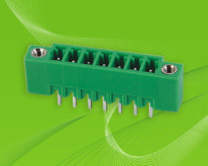 PCB Pluggable Terminal Block with Side Mount pictures & photos