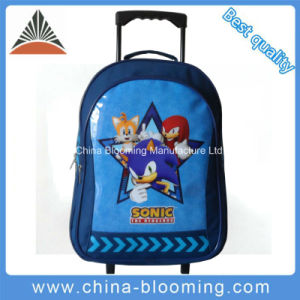 Student Back to School Trolley Rolling Backpack Gift Set Bag pictures & photos