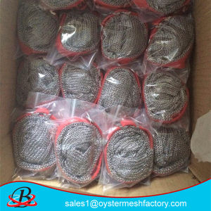 Stainless Steel Wire Mesh Cut Resistant Hand Gloves pictures & photos