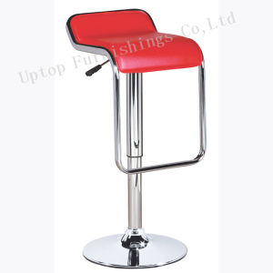 Red Leather Adjustable Bar Stool for Wholesale (SP-HBC327) pictures & photos