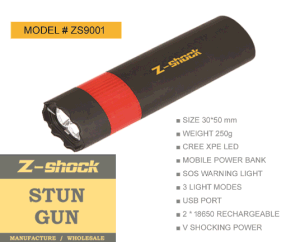 Stun Gun with Sos Warning Light pictures & photos