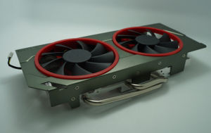 Coputer Heat Sink with Heat Pipes and Active Fan pictures & photos