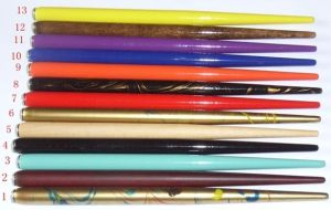 Cheap Colorful Wooden Sketching Pen Holders pictures & photos