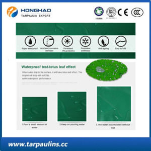Low Price Waterproof PVC Woven Tarpaulin for Outdoor Cover pictures & photos