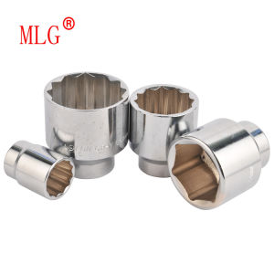 3/4′′ Matte Short Cr-V Socket Metric17-65mm (MLG007)