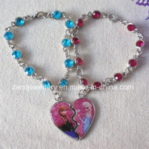 Disney Fashion Jewelry for Children-Frozen Acrylic Stone Bracelet /Anna Bracelet /Elsa Bracelet (B005) pictures & photos