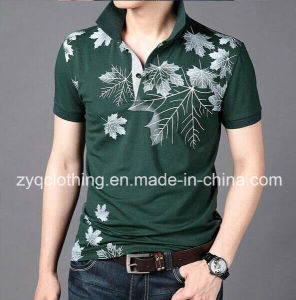 Polo T-Shirt, Men′s High Quality Printed T-Shirt pictures & photos