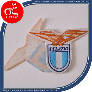 Clothing Label Woven Badge for Garments (Jiefa) pictures & photos
