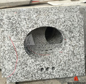 G439 Chinese Light Grey Granite Vanity-Top pictures & photos