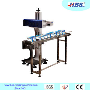 High Quality CO2 Laser Marking Machine for Rubber/Plastic/Wood Marking pictures & photos