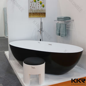 Polymer Acrylic Resin Stone Solid Surface Freestanding Bathtub