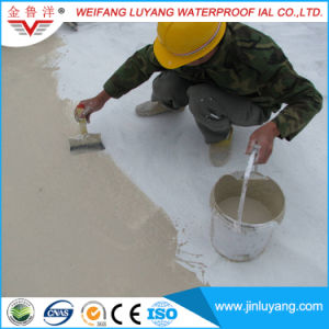 China Supply Polymer Cement Waterproof Paint, Js Waterproof Coating pictures & photos