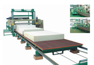 XPQ-1650/2150PB Horizontal Moving Table Foam Cutting Machine pictures & photos
