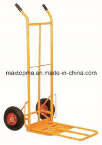 Factory Price Two Wheel Hand Truck Hand Trolley (HT1827) pictures & photos