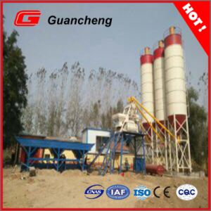 Hzs50 Automatic Aggregate Concrete Admixture Mixing Plant in China pictures & photos