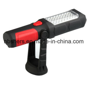 Rechargeable Cordless 36+1 LED Working Light Flashlight Magnetic Base, Backside pictures & photos