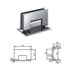 Bathroom Door Hinge / Shower Room Door Hinge / Connects Glass to Wall (C-101)