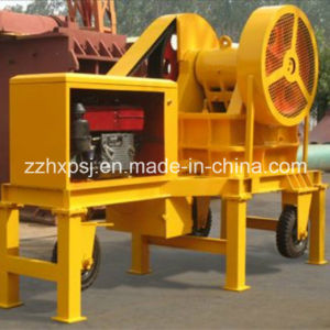 Mini Portable Diesel Engine Jaw Crusher pictures & photos