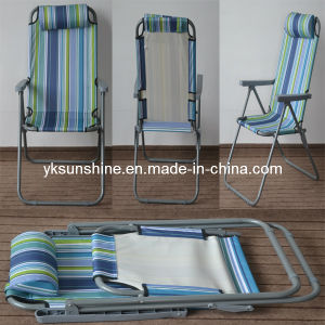 Foldable Adjustable Beach Chair (XY-138C) pictures & photos