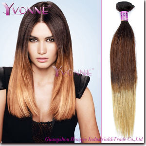 Grade 5A Natural Straight Ombre Human Hair Extension pictures & photos