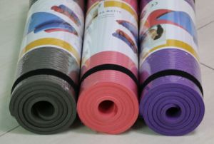 High Density NBR Yoga Mat Manufacturer pictures & photos