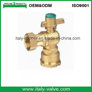 Customized Quality Brass Forged Angle Ball Valve (AV1004B) pictures & photos